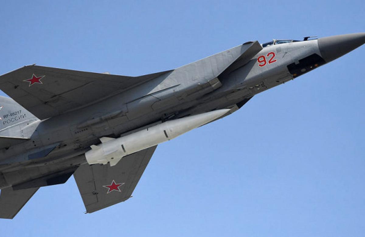 """Россия угрожает авианосцам США гиперзвуковым комплексом """"Кинжал"""""""