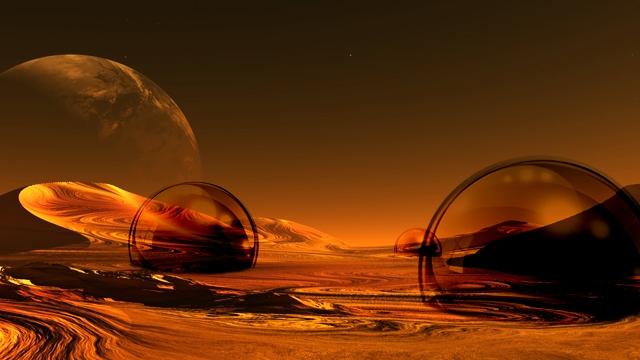 Ученые обнаружили на Марсе возвышенности, напоминающие купола