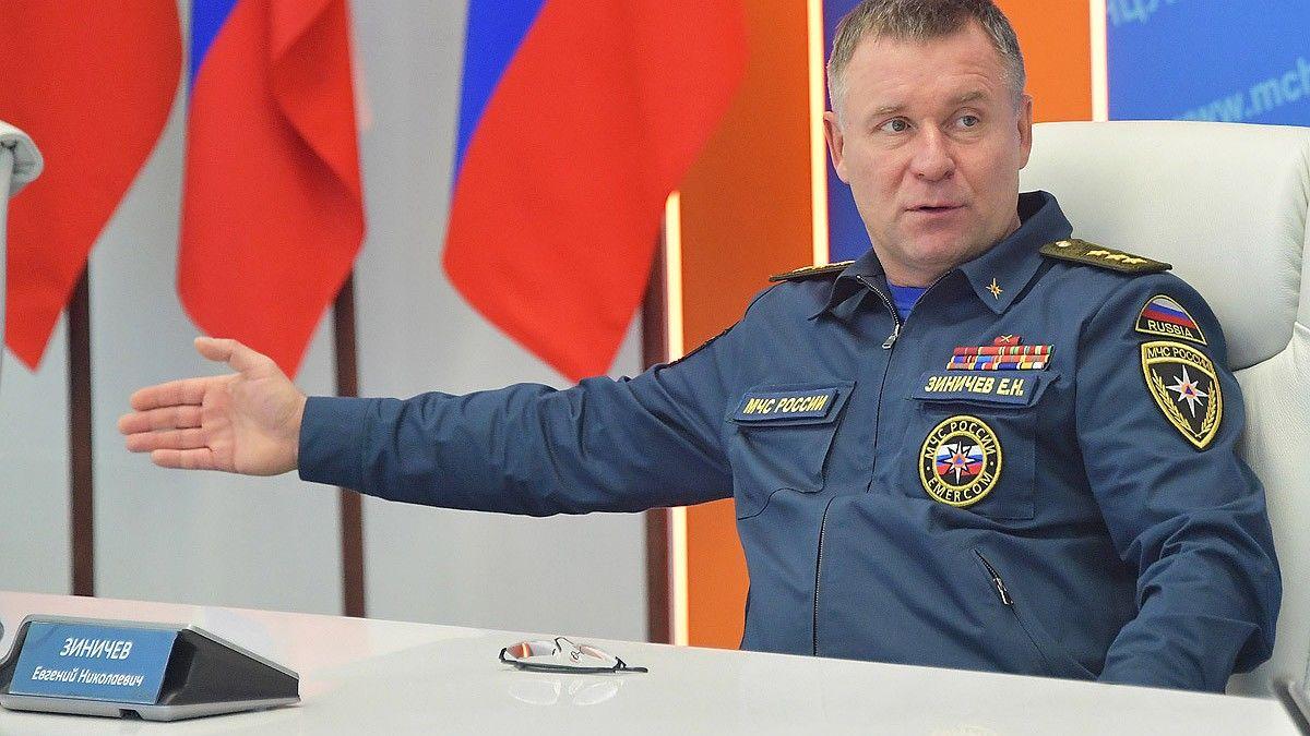 Заповедная зона: СМИ назвали место гибели главы МЧС России Зиничева
