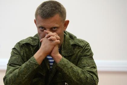 Захарченко: на следующей встрече в Минске переговоры будут о прекращении огня