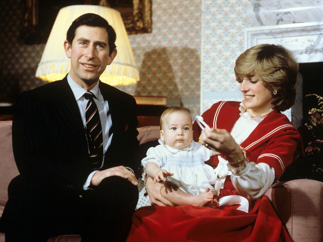 Спустя 38 лет раскрыта необычная история первого фото принцессы Дианы с Уильямом