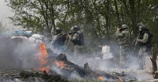 Батальон «Донбасс» сообщает о двух уничтоженных  КамАЗах «Оплота»
