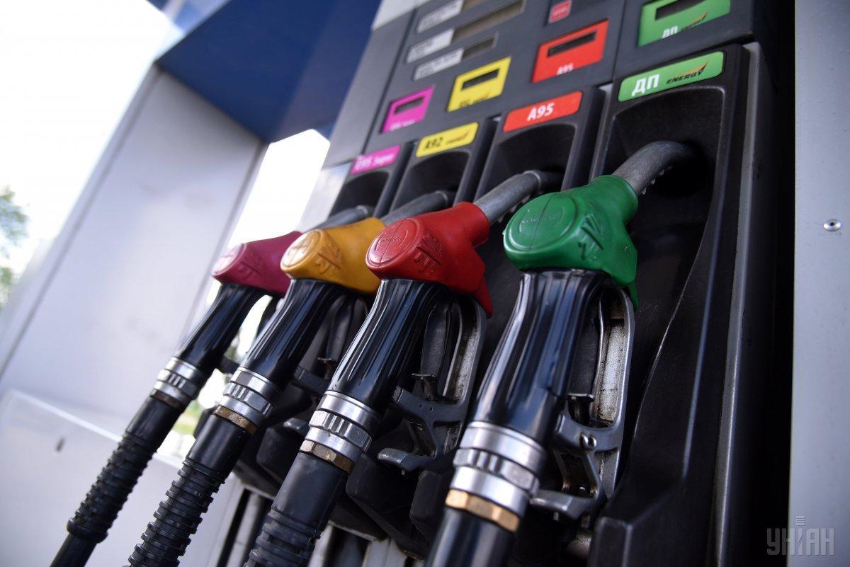 топливо, украина, а-92, а-95, дизтопливо, пропан-бутан, цена