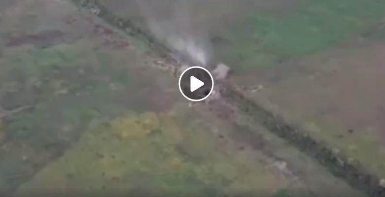 Красиво разлетелась в щепки: бойцы ООС блестящим ударом разнесли позицию боевиков на Донбассе - кадры