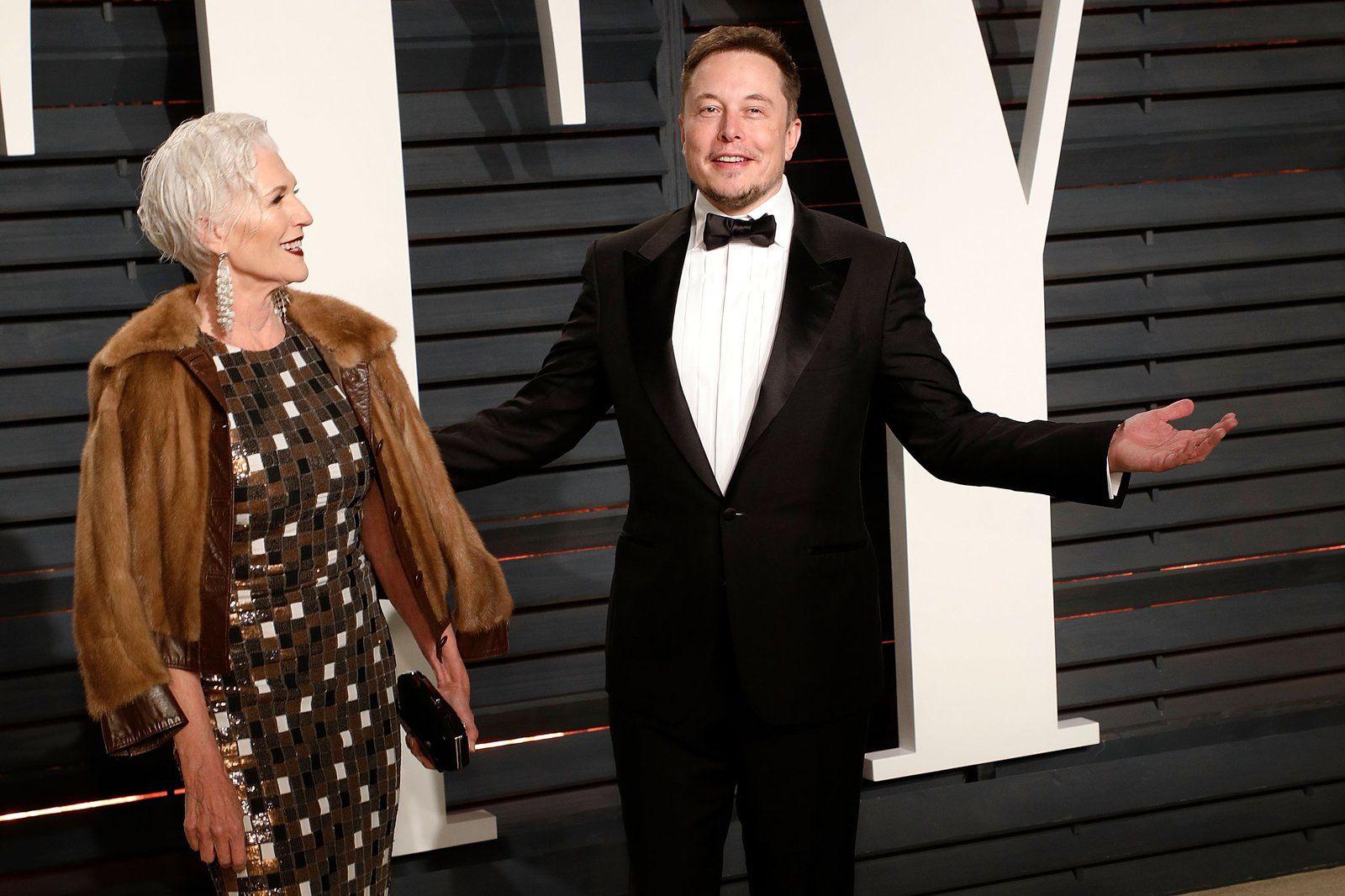 Мать Илона Маска Мэй представила доказательства того, что ее сын гений