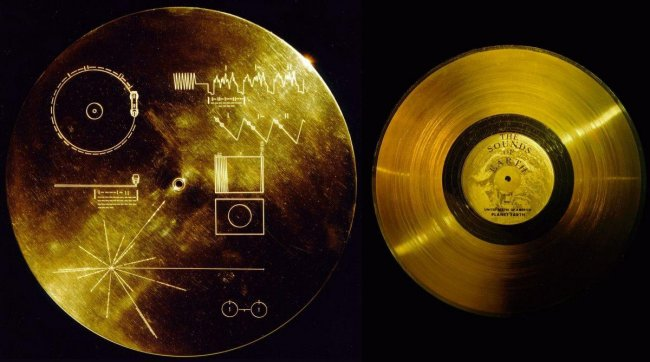 """Звуки с золотой пластинки """"Вояджеров"""": NASA обнародовало послание для космических цивилизаций"""