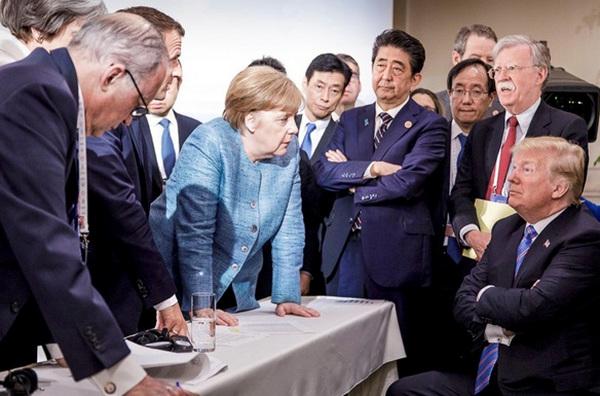 """СМИ: Трамп на саммите ввел в ступор лидеров G7 резонансным заявлением о """"российском"""" Крыме"""