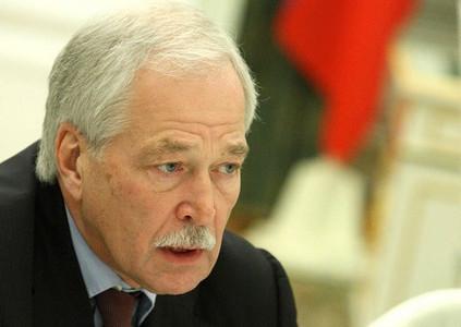 Представитель Кремля Грызлов разразился гневными словами в адрес Киева, упорно не желающего сдавать Донбасс