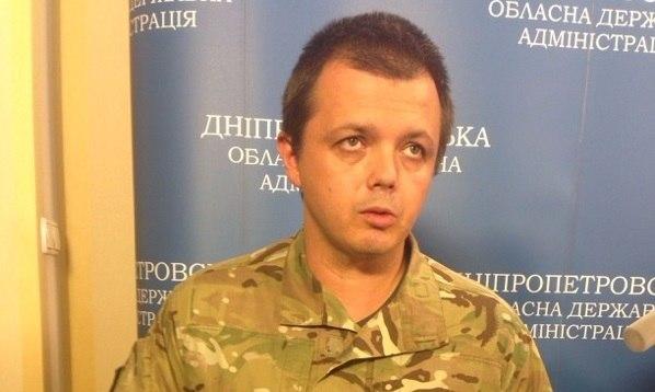 """Комбат """"Донбасса"""" Семен Семенченко показал свое лицо"""