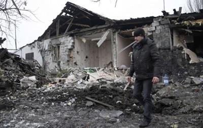 Луганск, ОГА, разрушения, бои, боевики, ЛНР, Станица