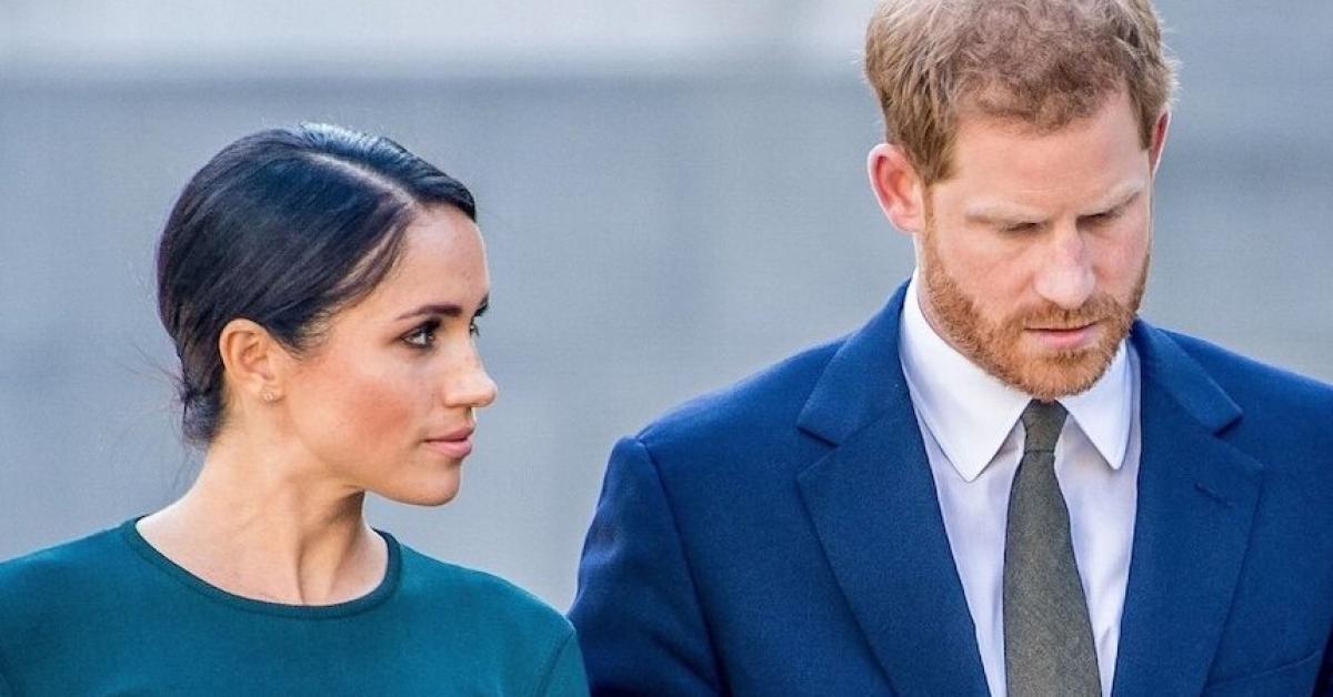 """Принц Гарри и Меган Маркл потеряли ребенка: """"Боль и потери мучили всех нас в 2020 году"""""""