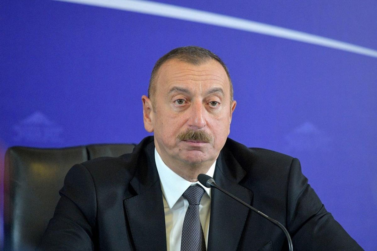 Алиев обвинил Россию в контрабанде ракетных комплексов и наемников гражданскими судами