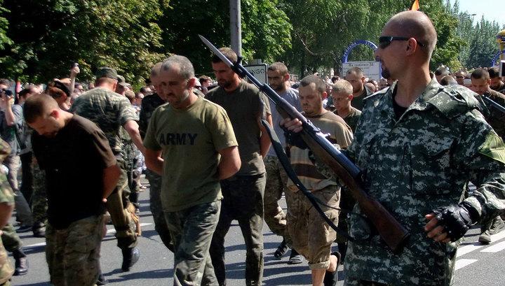 СМИ: ночью произойдет обмен 31 ополченца на 36 украинских военных