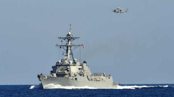 """эсминец с """"Томагавками"""", нато, альянс, россия, сша, крым, балтийское море"""
