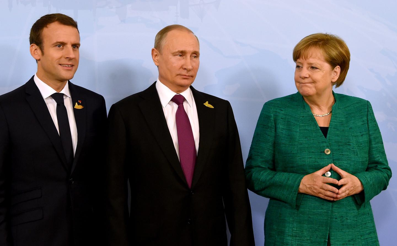 """Появилась первая реакция Макрона и Меркель по итогам встречи """"нормандской четверки"""" на полях саммита """"Большой двадцатки"""" – Путин озадачен и пока молчит"""