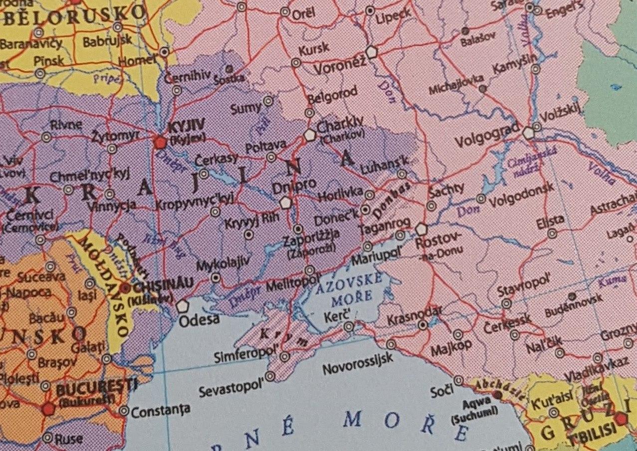 Пророссийские силы в Чехии продолжают провокации: выпущена карта, где Крым российский, а ИГИЛ - отдельная страна