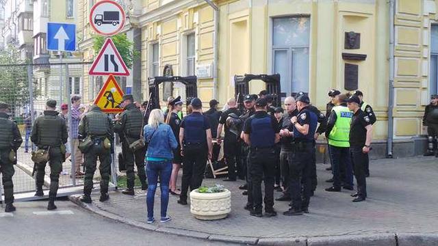 Во время Марша равенства в столице пострадали двое сотрудников полиции