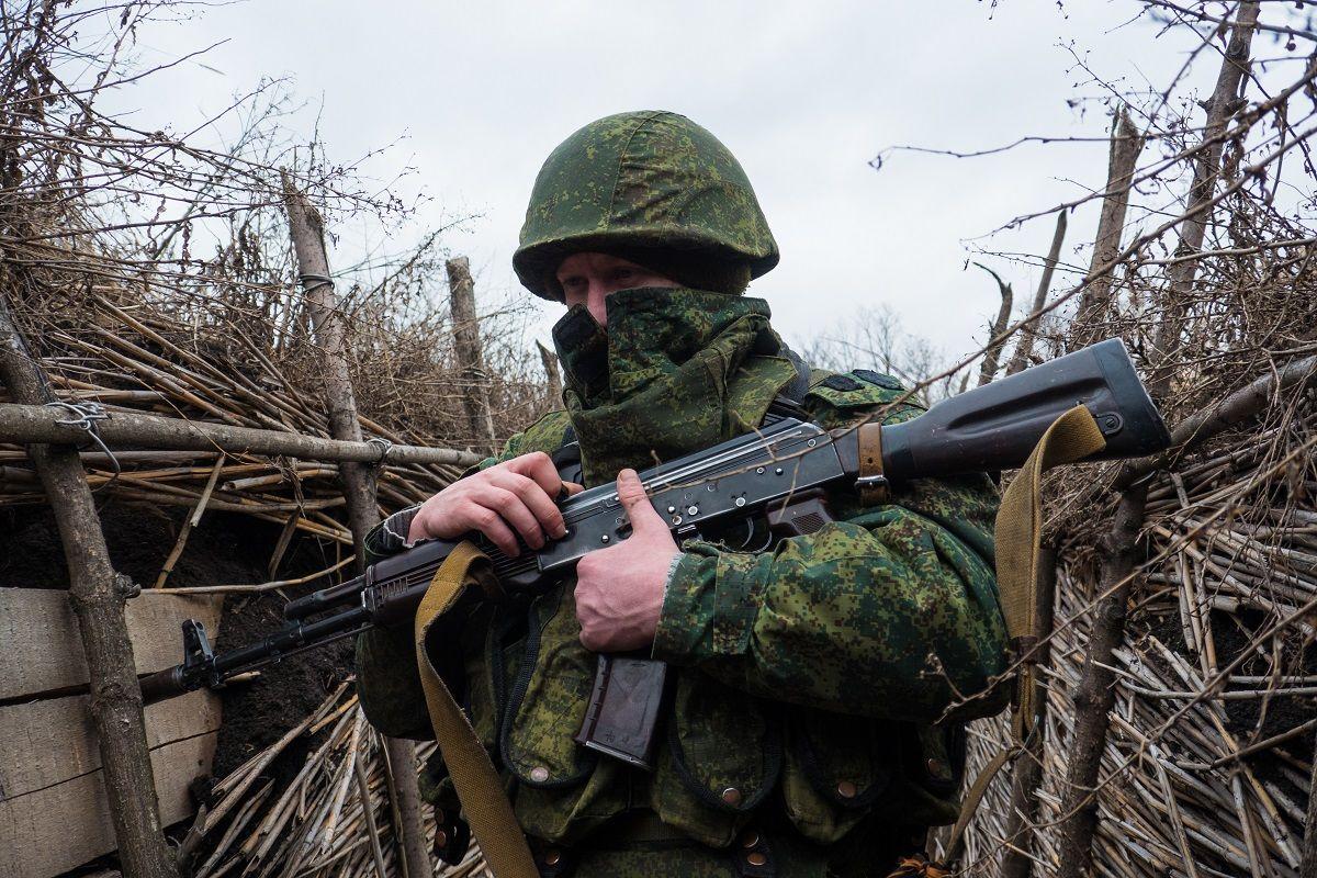 Российским наемникам на Донбассе дали приказ атаковать ВСУ
