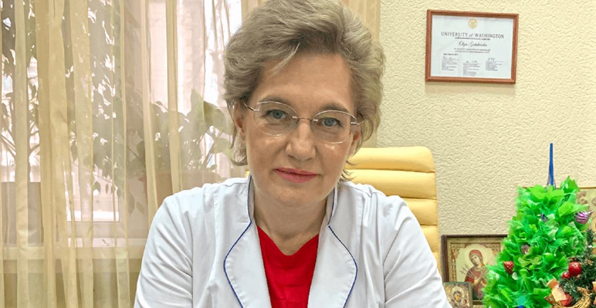 Украина, коронавирус, врач, Ольга Голубовская, мнение, видео, эфир, телеканал 1+1