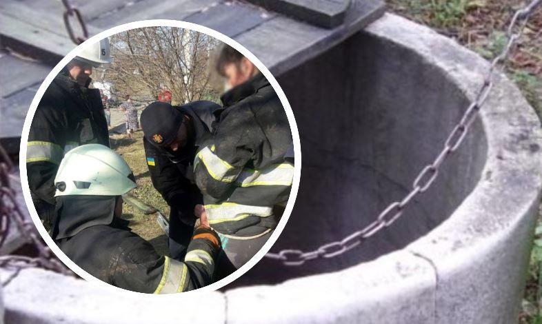 В Хмельницкой области мать бросилась в 17-метрой колодец за упавшей туда дочерью