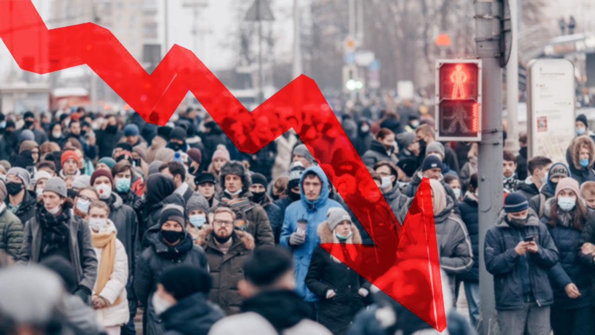 Такого не было с голода 1947 года: темпы роста смертности в России рекордно растут