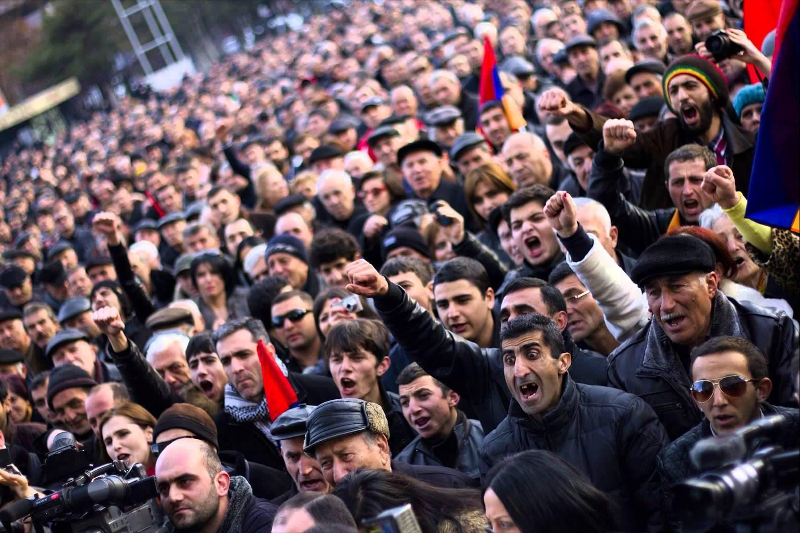 пашинян, армения, забастовка, ереван, видео, протесты в армении, прямой эфир из армении сегодня