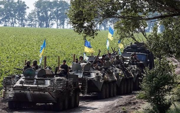 Украинская армия оставила Лутугино