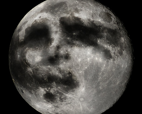 """Тайна """"лица"""" Луны разгадана"""