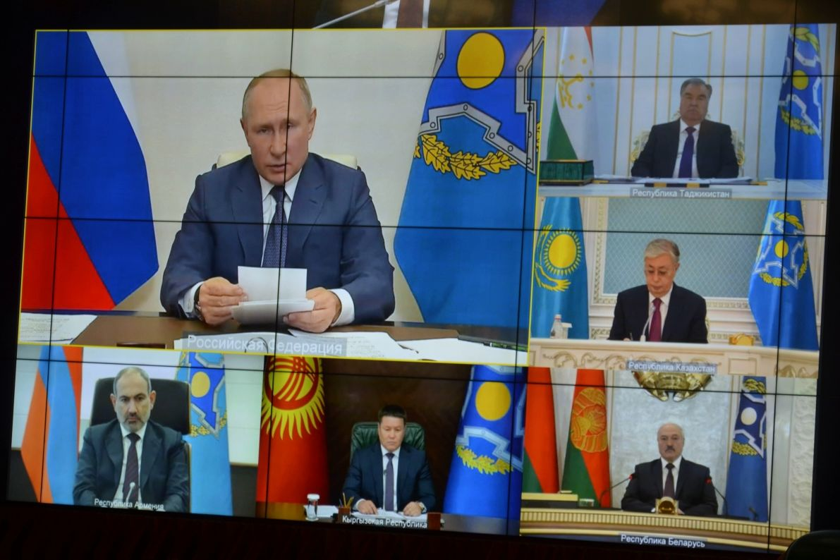 """Путин """"самоизолировался"""" от ОДКБ и ШОС: инициативы Кремля на Средней Азии рассыпаются"""