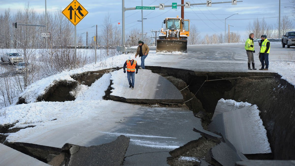 Сильнейшее землетрясение в истории: тряска на Аляске чуть не вызвала цунами