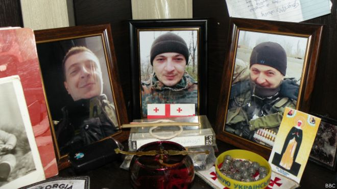грузия, украина, легион, война