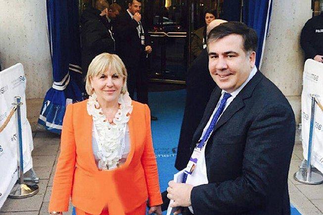 Стала известна реакция главной женщины Саакашвили на его задержание в украинской столице
