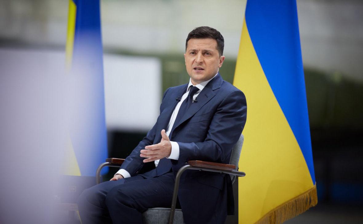 """""""РФ не называют стороной конфликта"""", – Зеленский о позиции Германии и Франции по Донбассу"""