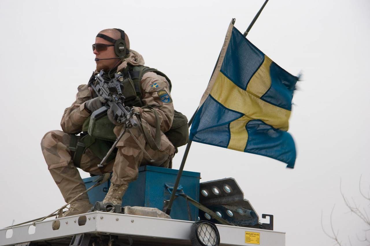 """Шведские вооруженные силы готовятся дать отпор вторжению """"крупного противника"""""""