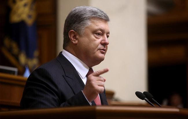 Порошенко рассказал, какой  представляет будущее объединенной Украинской православной церкви