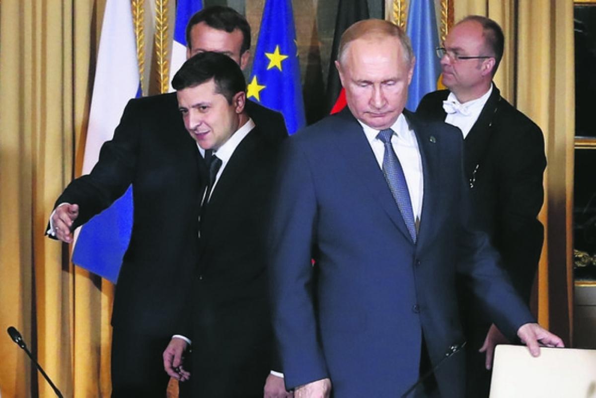 зеленский, путин, песков, украина, россия, конфликт, агрессия