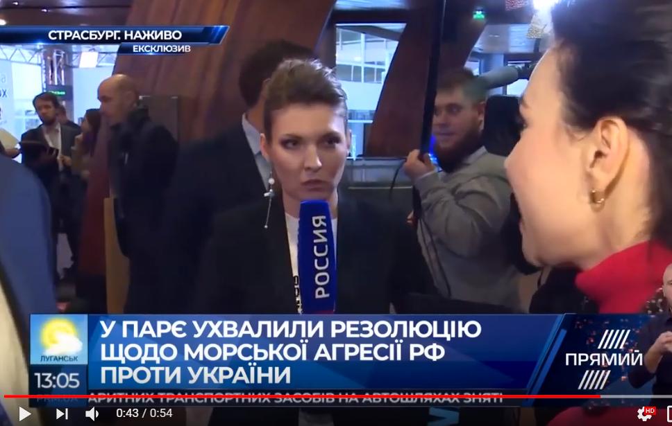 """Рот Скабеевой назвали """"сливным бачком"""": видео, как украинская журналистка ошарашила пропагандистку РФ, выгнав из эфира"""