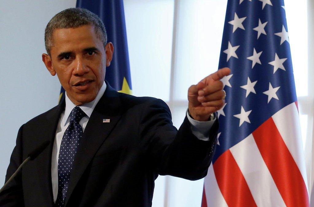 """Агрессия РФ - угроза миру после """"холодной войны"""": Обама жестко обвинил Россию в вопиющем нарушении суверенитета Украины"""
