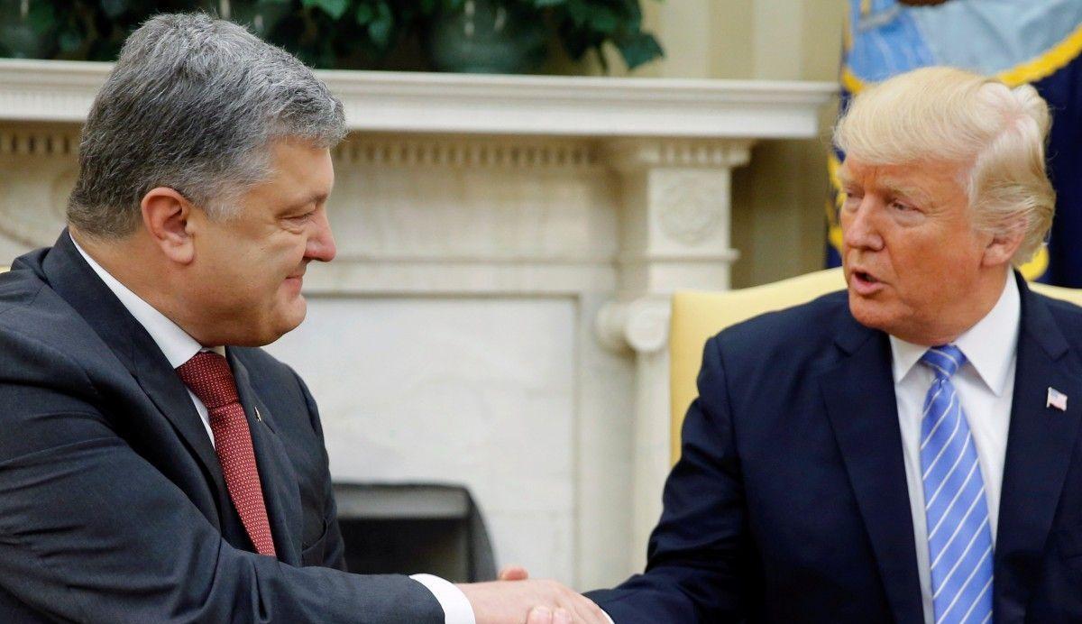 США, политика, Дональд Трамп, Порошенко, россия, путин, встреча, переговоры