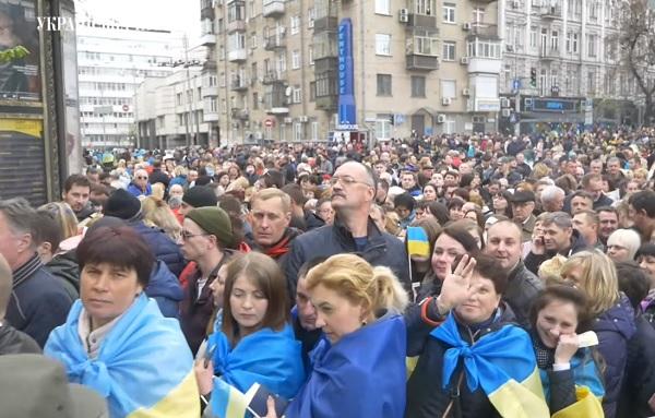 новости, Украина, Киев, дебаты, Порошенко, Зеленский, стадион, НСК Олимпийский, что происходит
