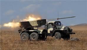 Погранслужба: РФ регулярно обстреливает позиции украинских военных из «Градов»