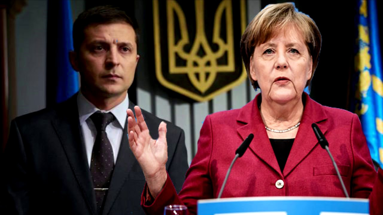 Украина, Германия, Меркель, Зеленский, Переговоры, Зайберт.