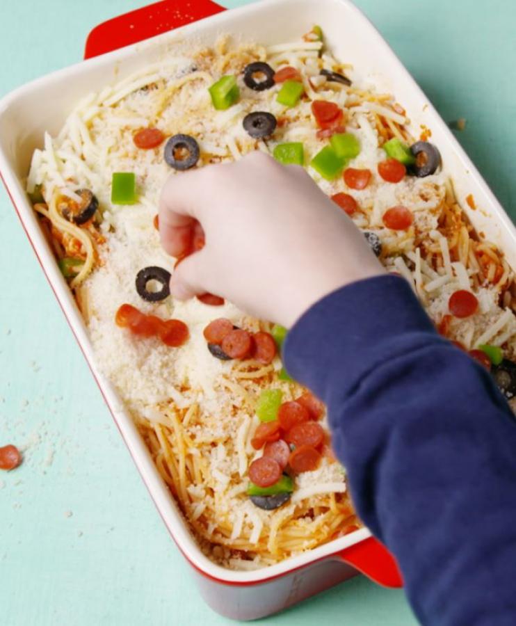 Необычная пицца-спагетти - рецепт способен удивить домочадцев