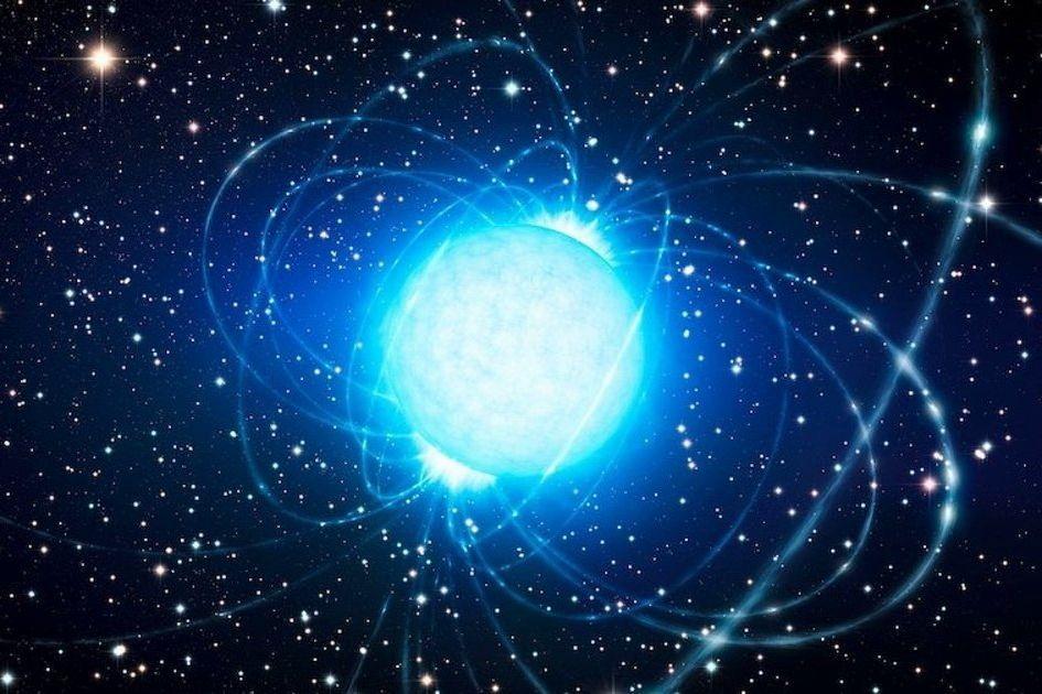 """Излучение от взрыва нейтронной звезды пронеслось через Землю - магнетар """"встряхнул"""" Вселенную"""