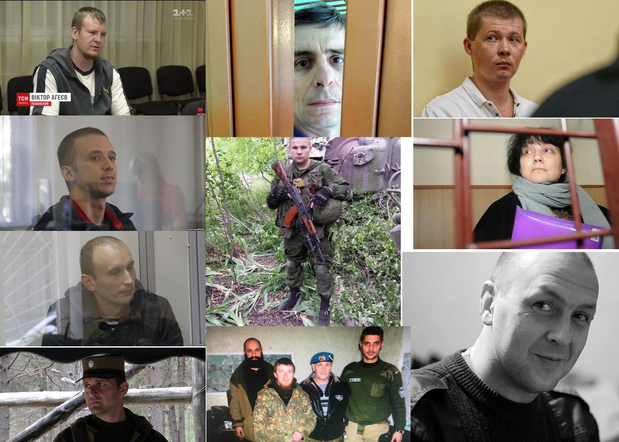 """Террористка Тереза и """"потеряшка"""" Агеев: кто эти 23 человека, попавшие в список на обмен с РФ, - подробности"""
