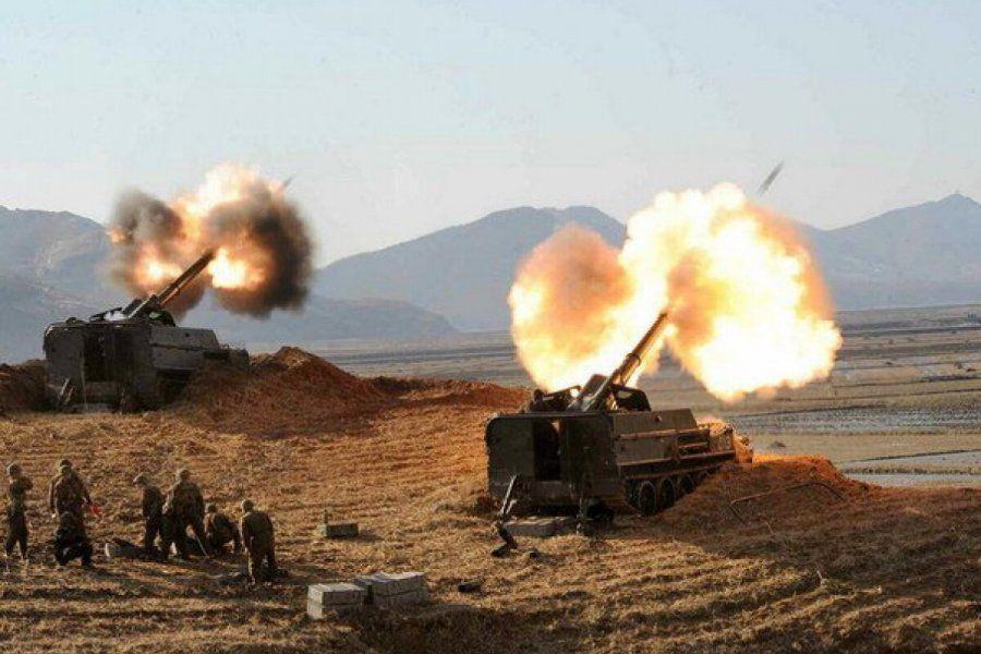 Турция нанесла артиллерийские удары по пророссийским войскам в Сирии