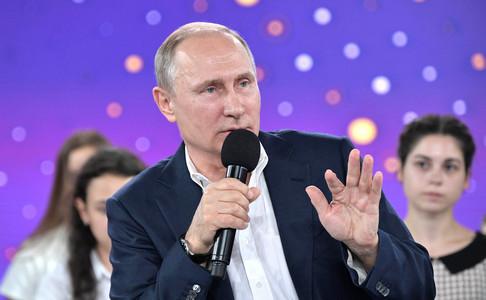 """""""Разрешаю делать все, что не запретил"""", - Путин на встрече с одаренными детьми пытался вешать лапшу на уши, что в России нет цензуры"""