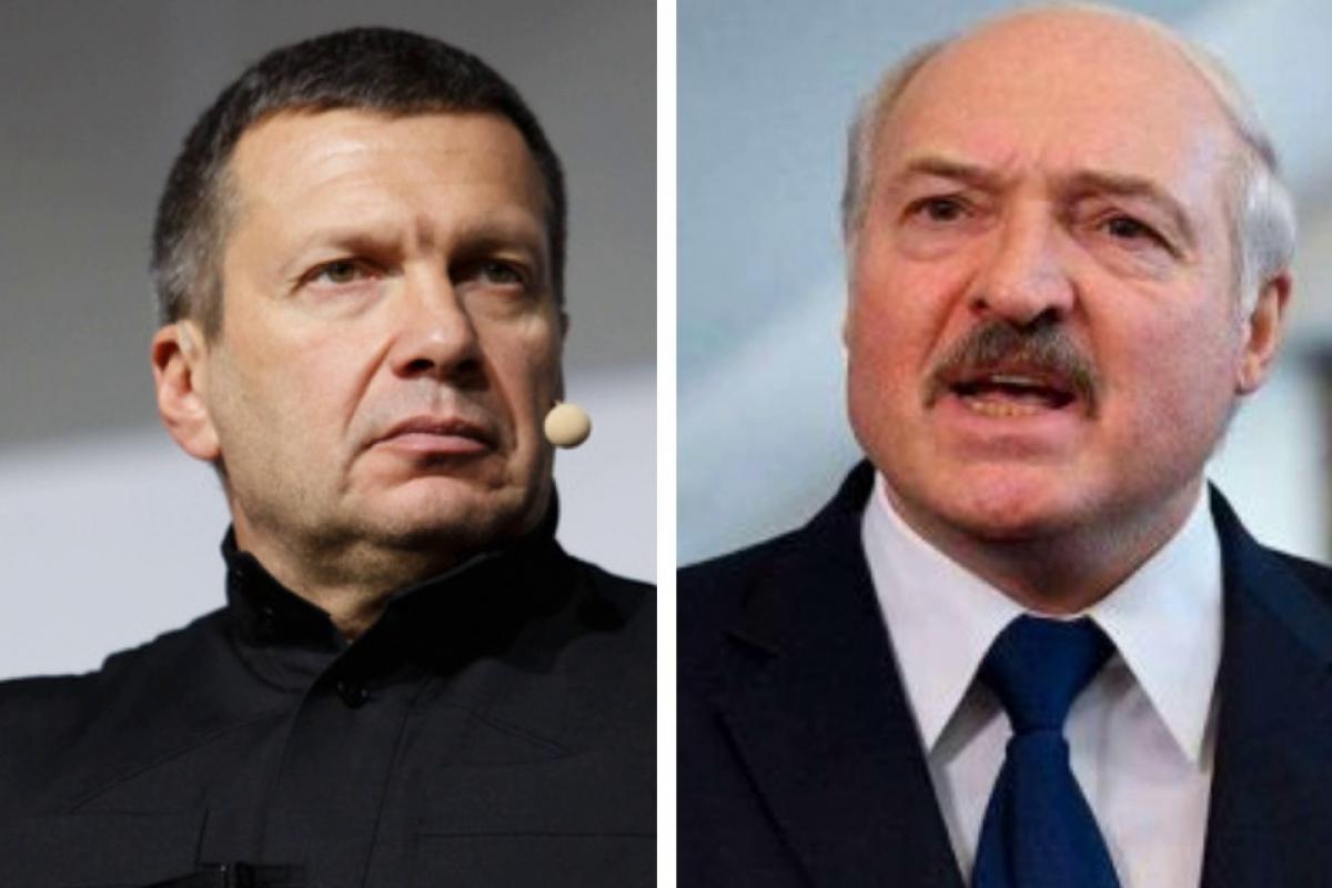 """Соловьев возмущен новым заявлением Лукашенко: """"Так Батька ничего и не понял"""""""