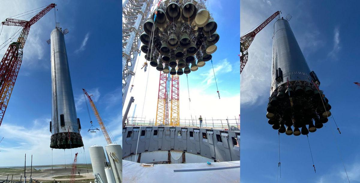 Наибольшую ракету в истории Starship собрала Space X