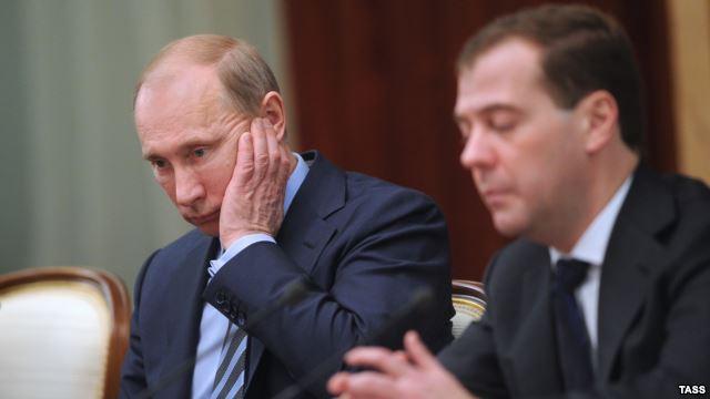 путин, медведев, россия, украина, премьер-министр, сирия, президент